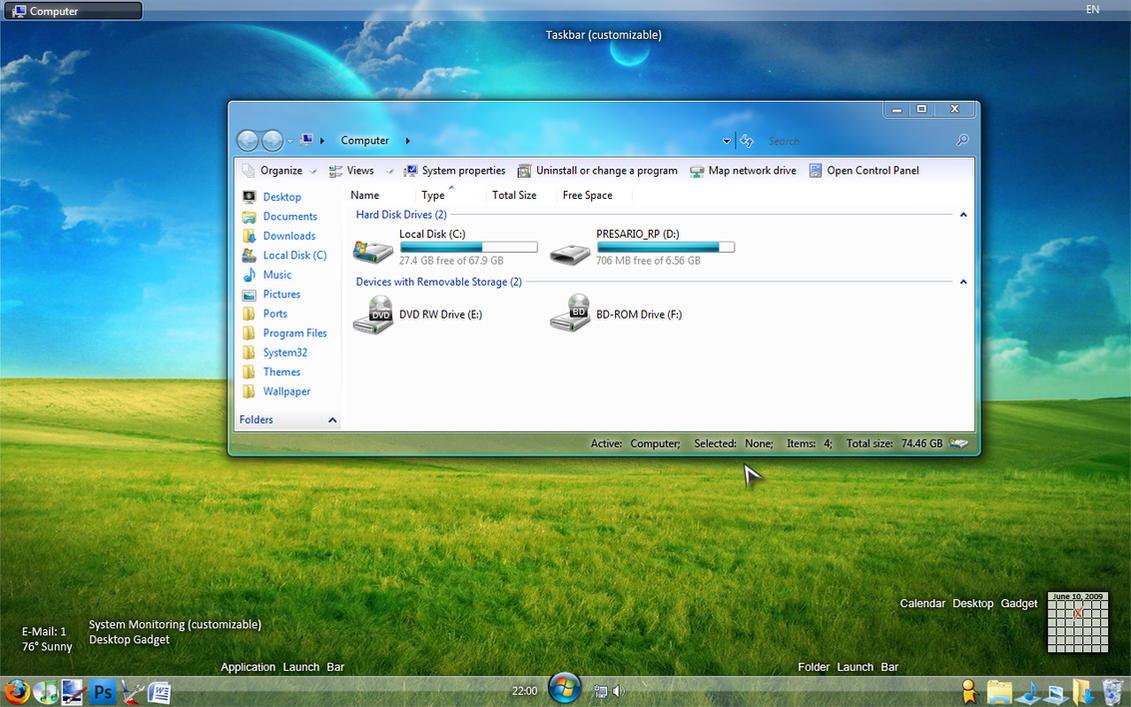 Windows Deviant 8 Final by Satukoro