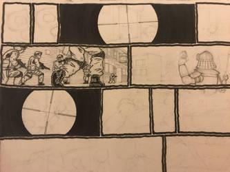 Current drawing progress