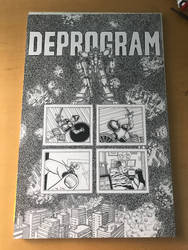 Deprogram - Gundum comic art finished