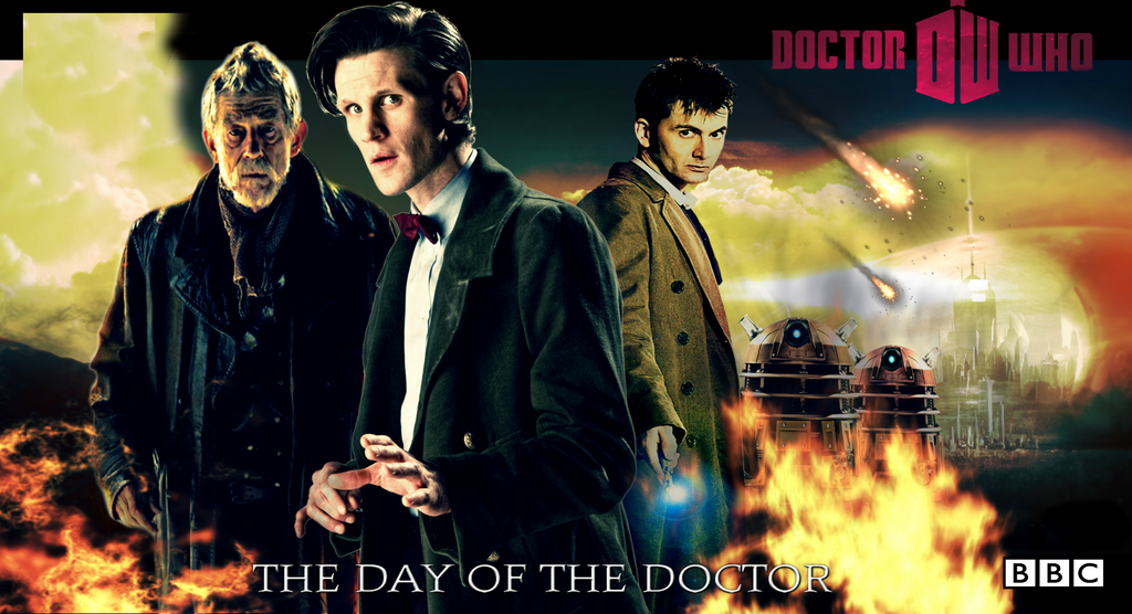 the day of the doctor poster by theepitomyofawesome on