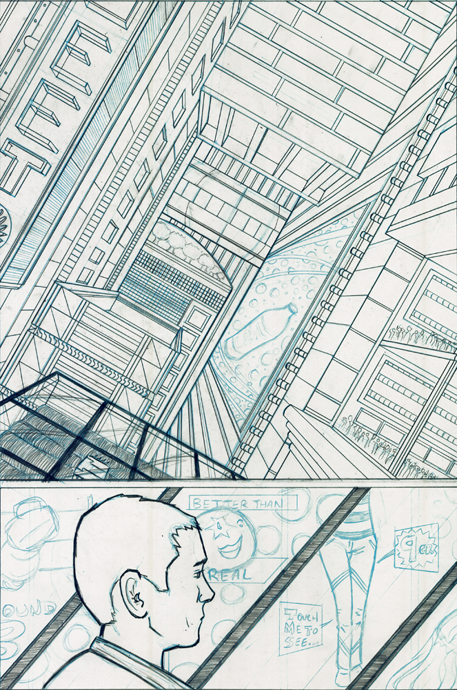 Superurban Preview Page by AndyMichaelArt