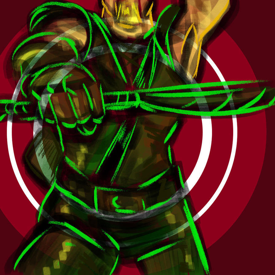 Green Arrow Yas Queen by AndyMichaelArt