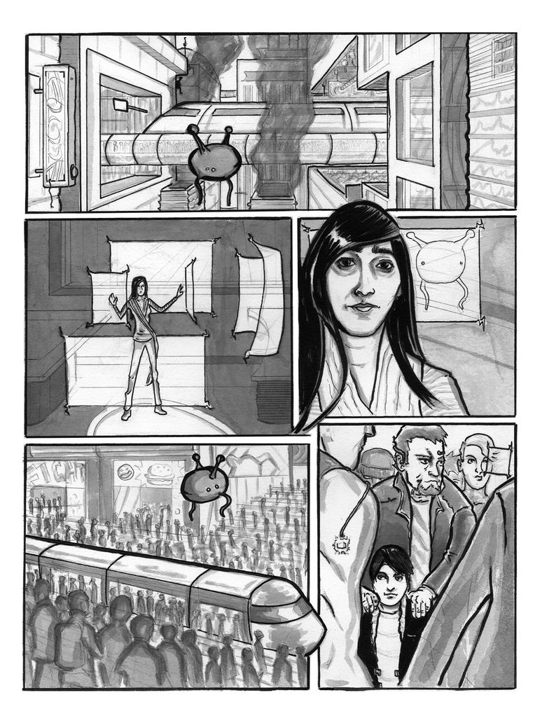 Superurban: Prelude: Uma Page 1 by AndyMichaelArt