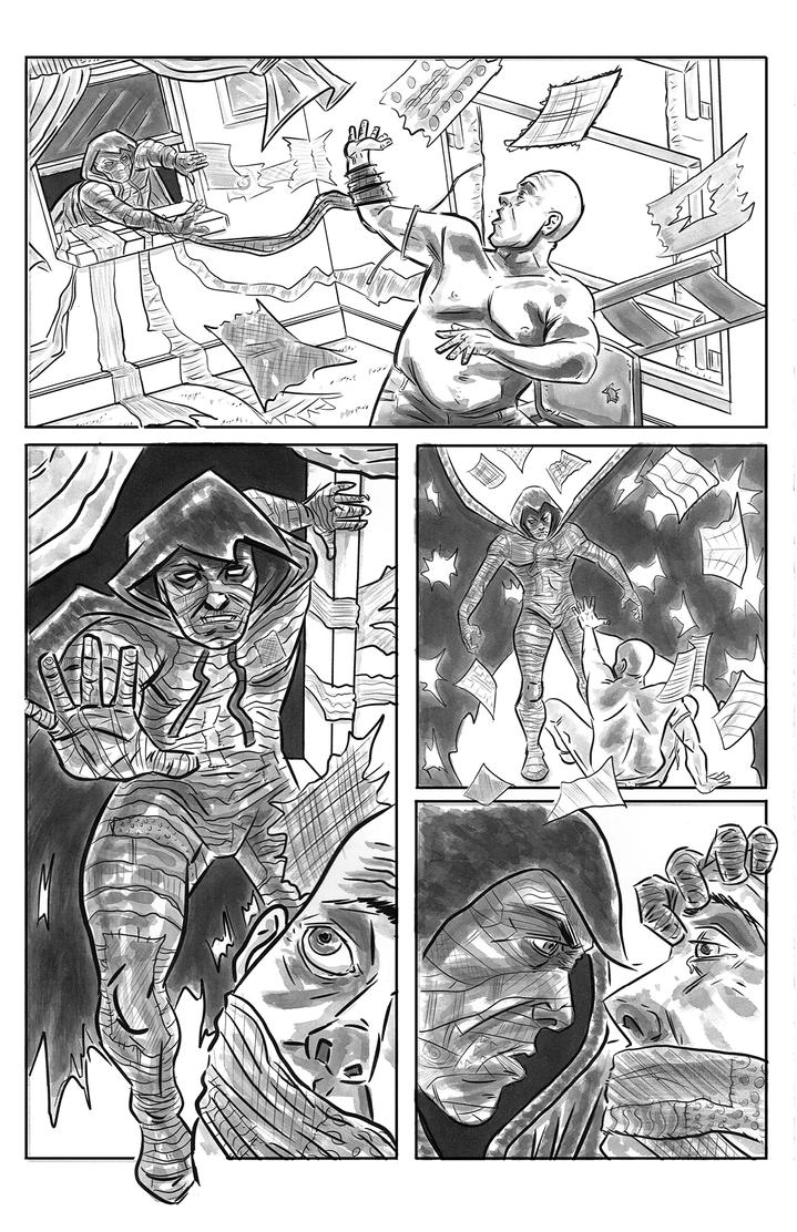 RAGMAN Sample Page 2 by AndyMichaelArt