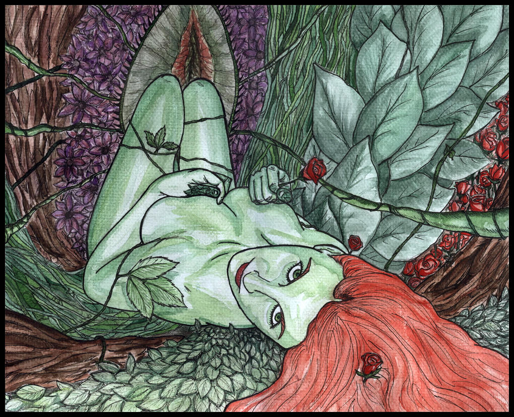 Poison Ivy by AndyMichaelArt