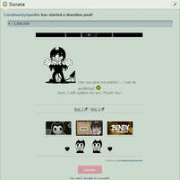 BATIM - Bendy custom box donate code by LoveBeautySparkle