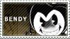 BATIM - Bendy The Dancing Demon Stamp by LoveBeautySparkle