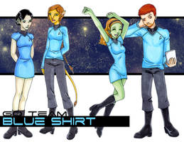 Team Blue Shirt by Dreamwind