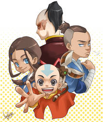 AVATAR The Last Airbender by kalno