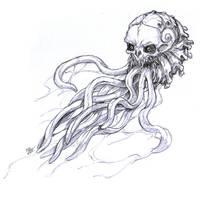 Skullphalopod by eldridgeque