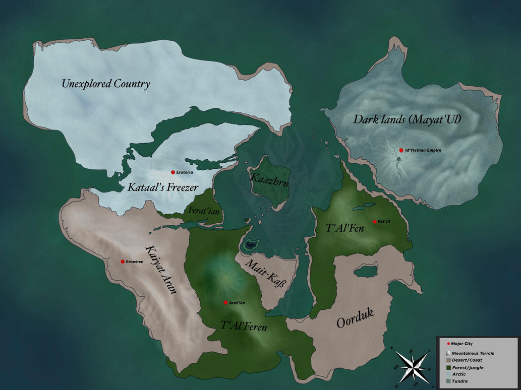 NEW Map of Ter'Al (2017) by VexisDuHast