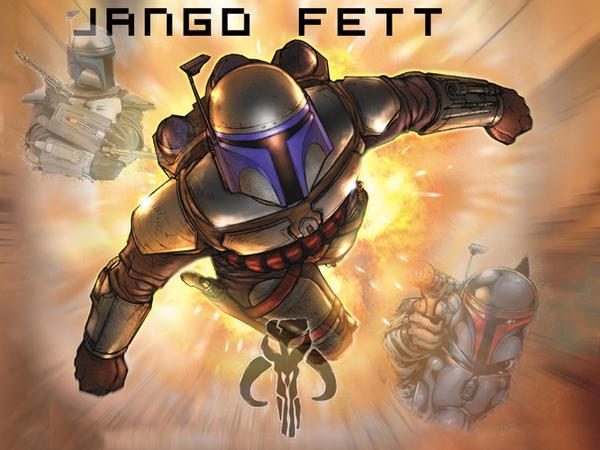JANGO FETT by Draxir