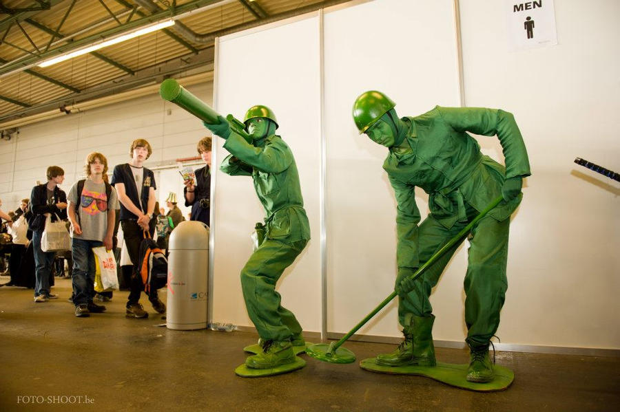 Army Men at work by CycloneXHTC ... & Army Men at work by CycloneXHTC on DeviantArt