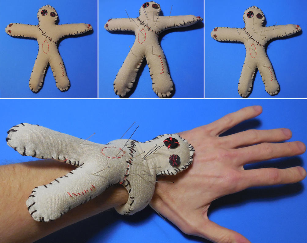Voodoo Pincushion by CycloneXHTC