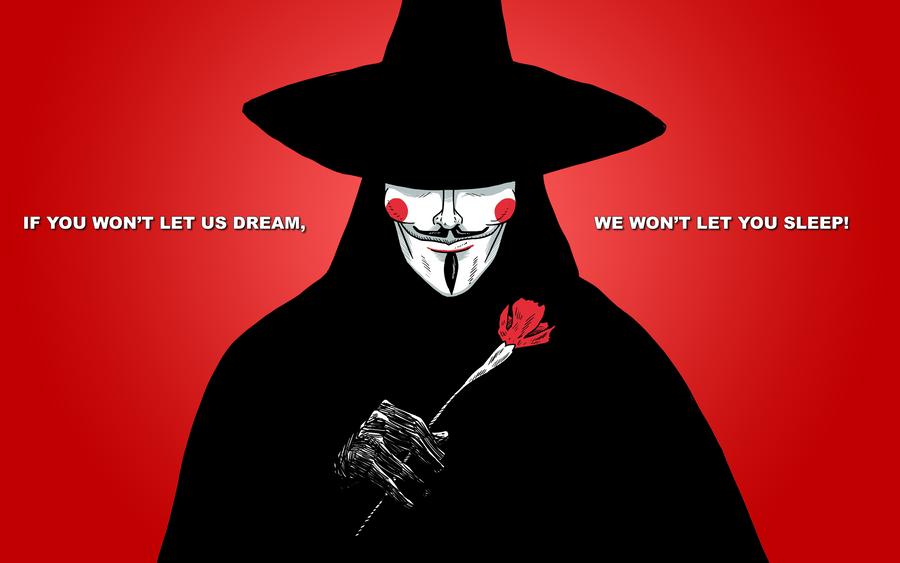 V For Vendetta By Manshonyagger