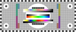 Testpattern Screen