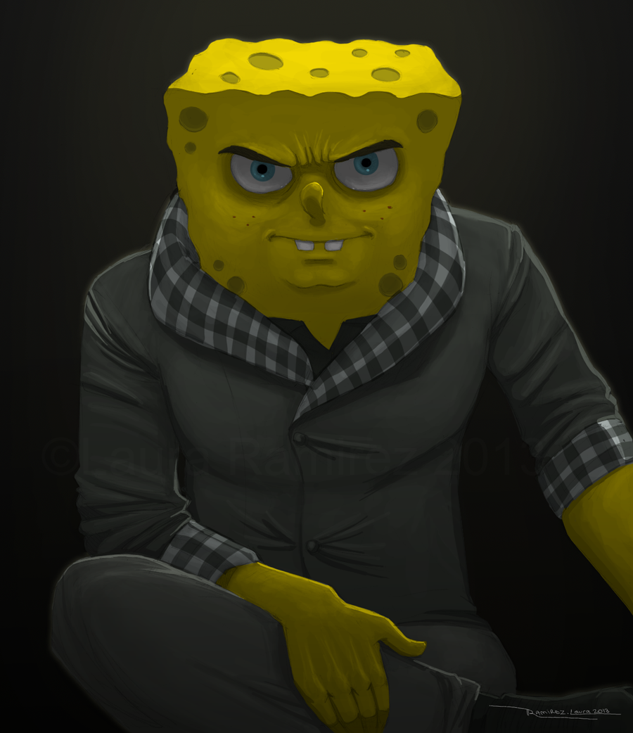 Spongebob Badasspants by LauraRamirez