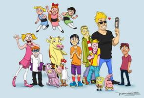Childhood cartoons