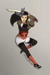Anubis kunoichi by LauraRamirez