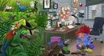 Artist Avatar Challenge _ Multitask Artiste by LauraRamirez