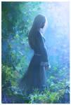 Thoughtful sorceress