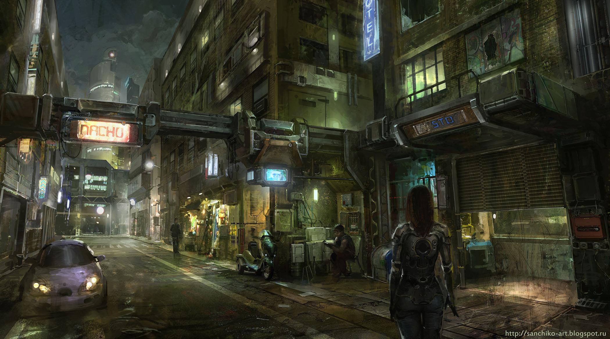 Streets by Sanchiko