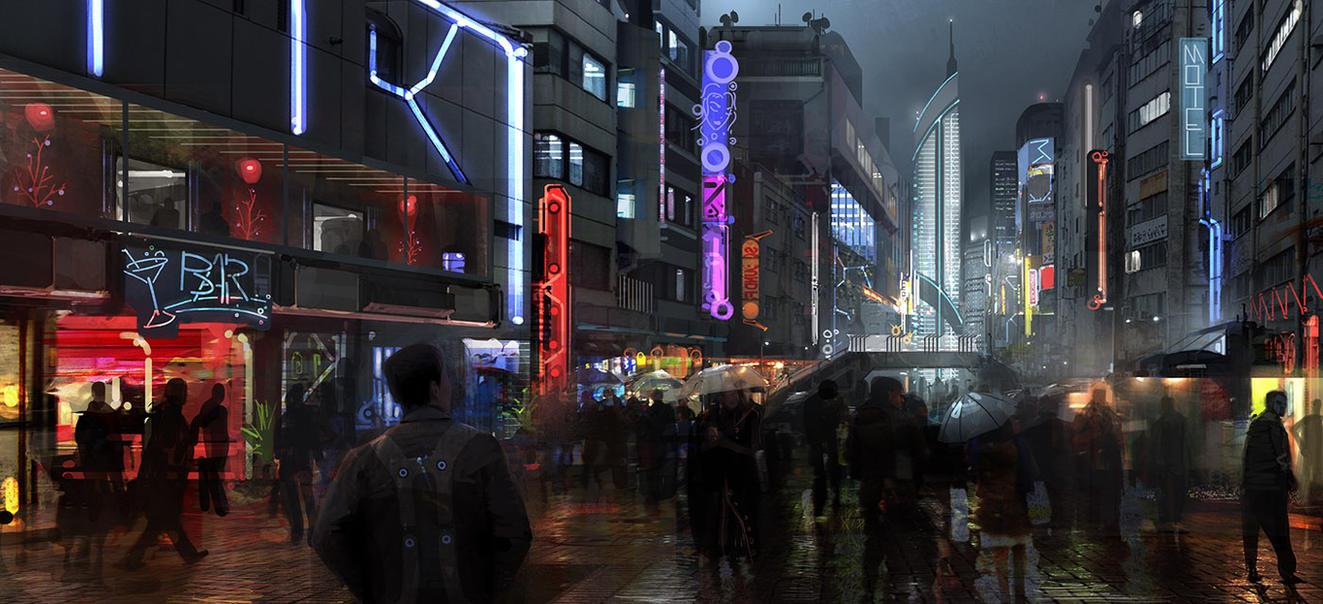 Streets 02 by Sanchiko