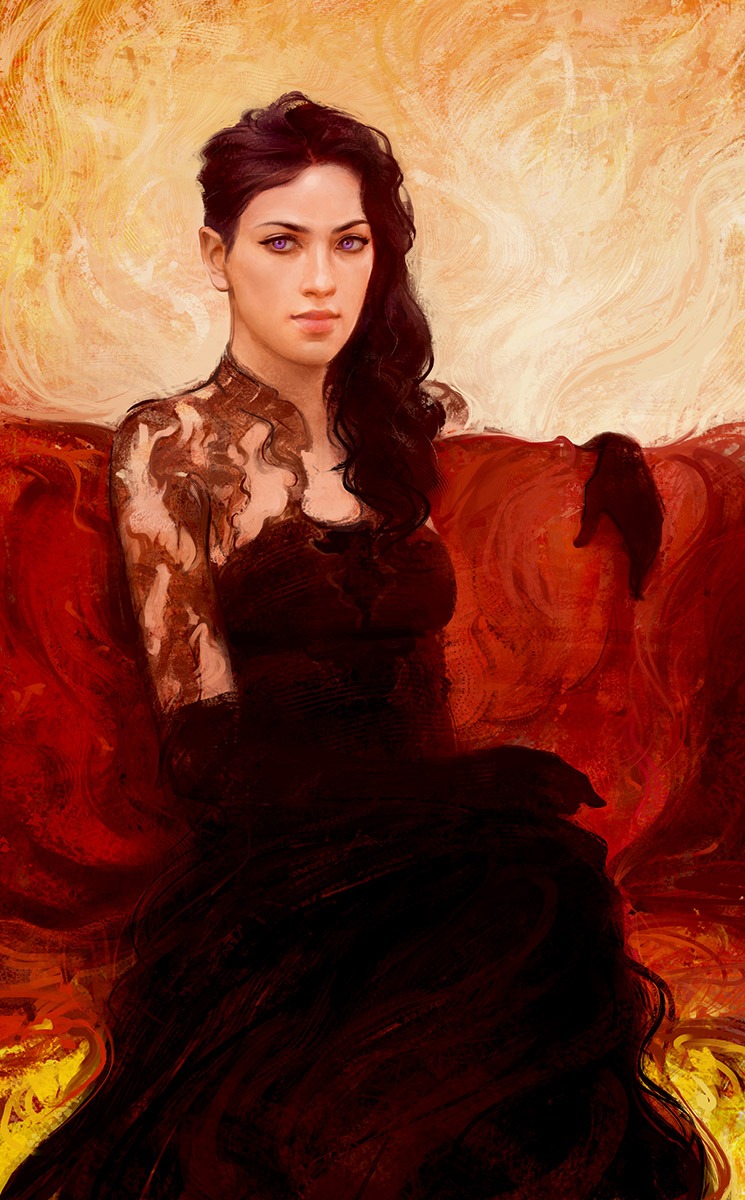 Black Dress by Sanchiko