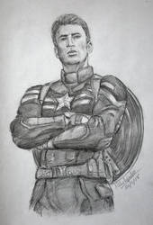 Captain America - Steve Rogers (Chris Evans) by Cordilia61