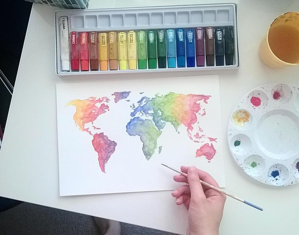 Colorful World by Cordilia61