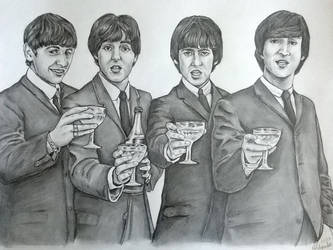 The Beatles - Cheers by Cordilia61