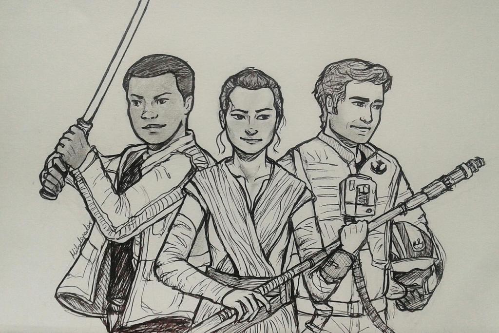 Star Wars Trio by Cordilia61