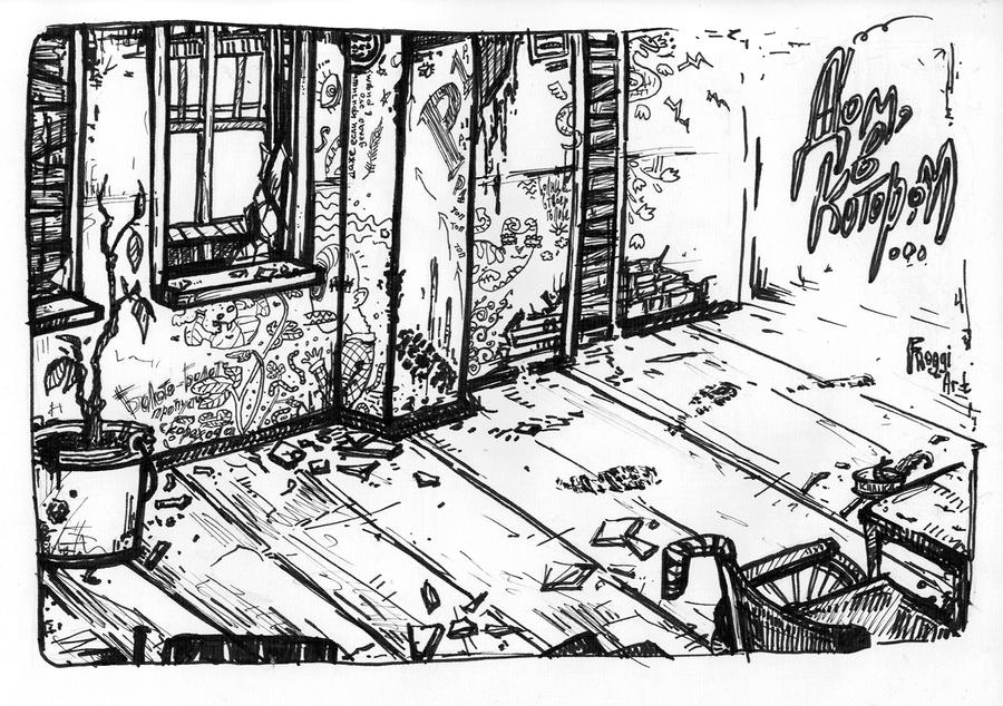 The House_Fanart_38 by Froggi-sama
