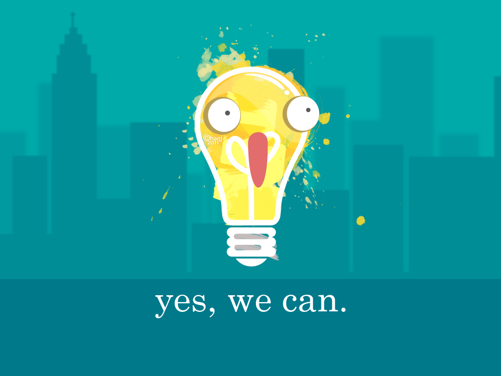 yes, we can. by HAQJ on DeviantArt