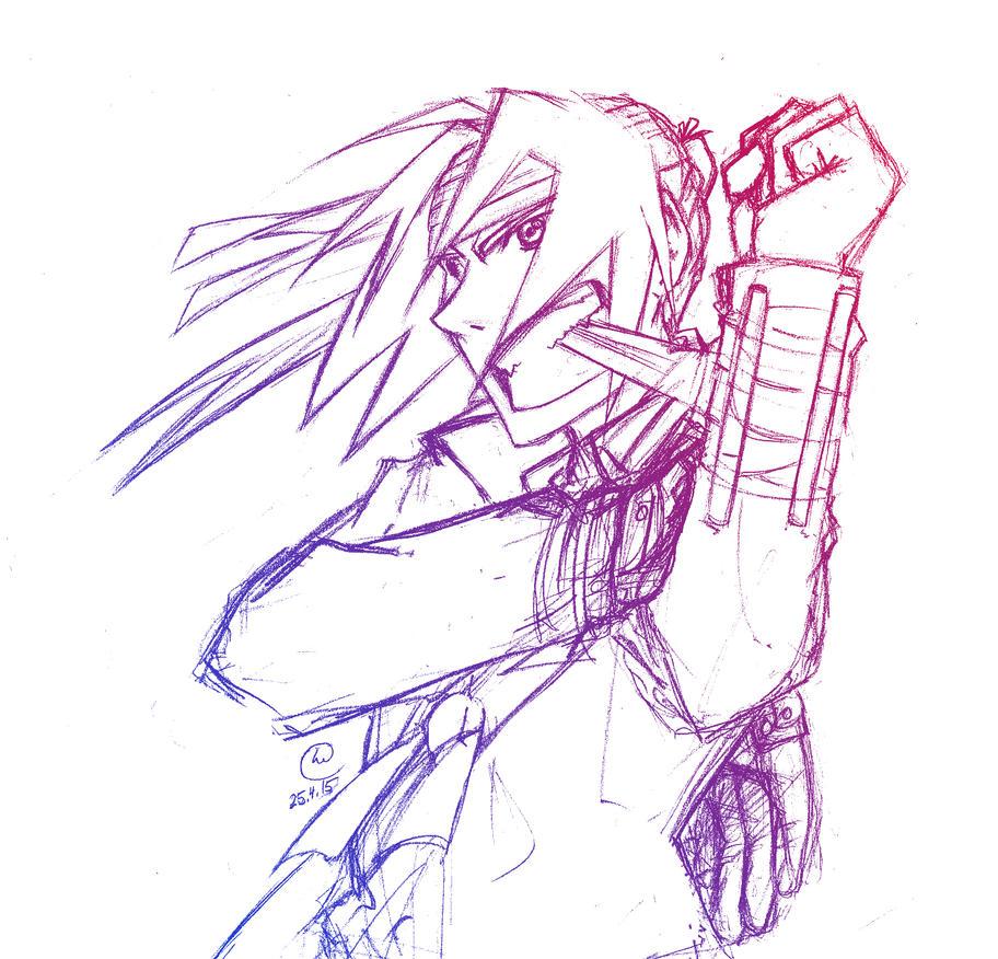 I won't die - sketch by NinachanxD