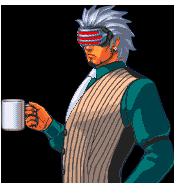 coffee godot ace attorney sprite