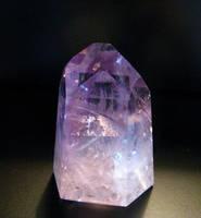 Amethyst Phantom Crystal by Earthmagic