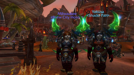Pandas with Glaives 2