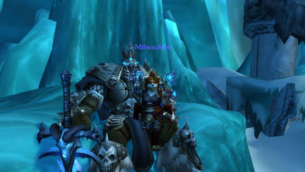 A Picture with the Lich King
