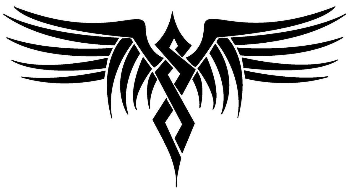 Tribal Wings - Digital Version by lady-dragonish on DeviantArt