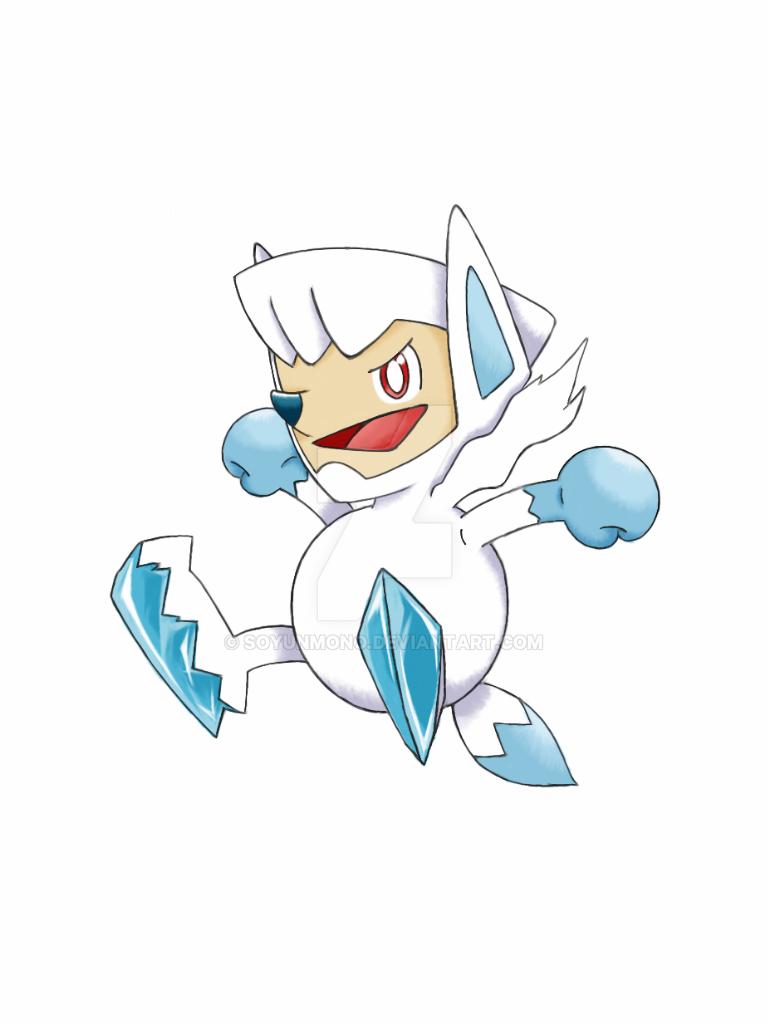 Ice Type Fox by soyunmono