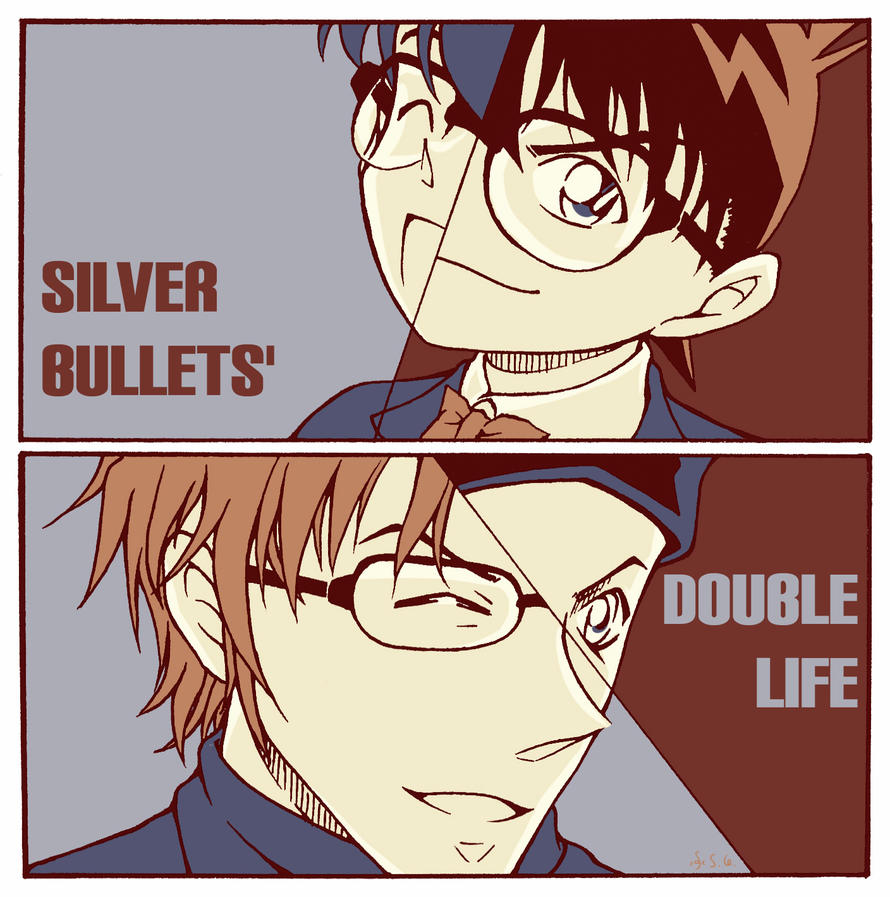 CASE CLOSED: Double Life By Esgros On DeviantArt