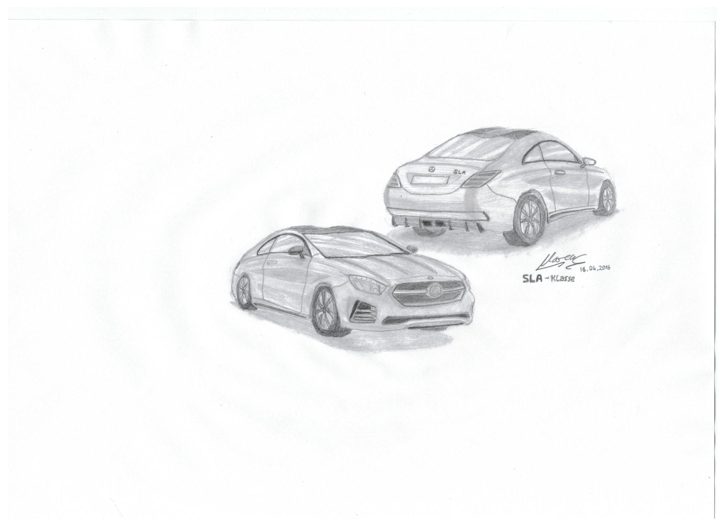 Mercedes benz sla eigenkreation by car4free on deviantart for Mercedes benz sla