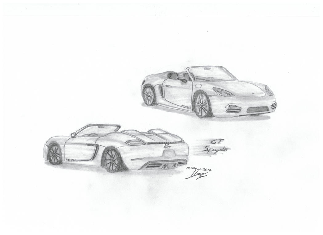 Porsche GT Spyder Eigenkreation by car4free