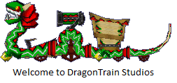 DragonTrain Studios logo by trainman666