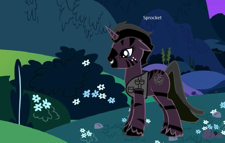 Sprocket the Unicorn by trainman666