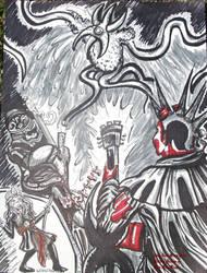 The Last Brain Cells Hellboy Parody