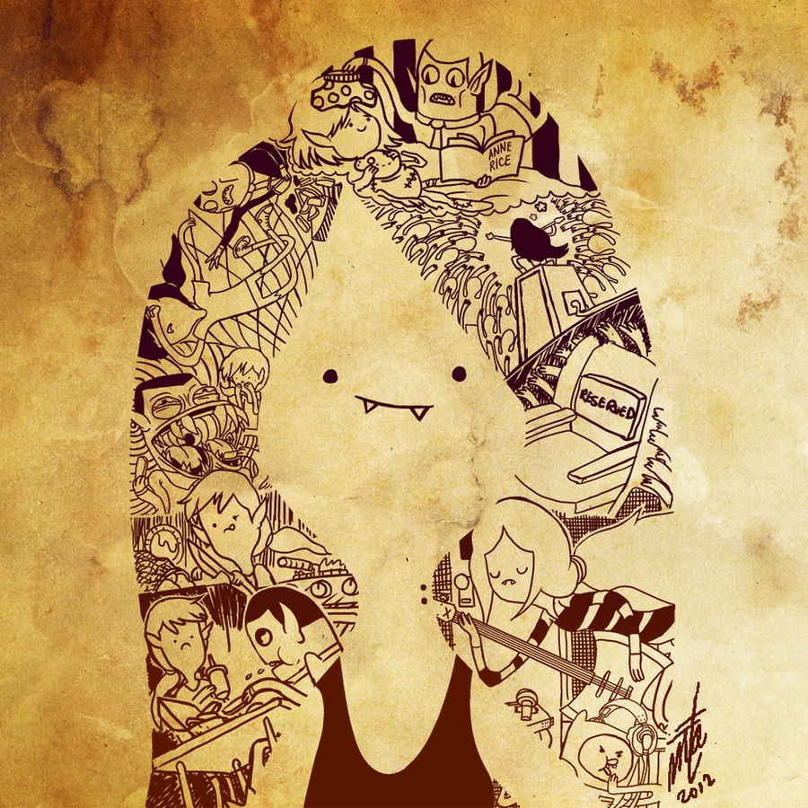 The Fan Fictional History of Marceline by illeity