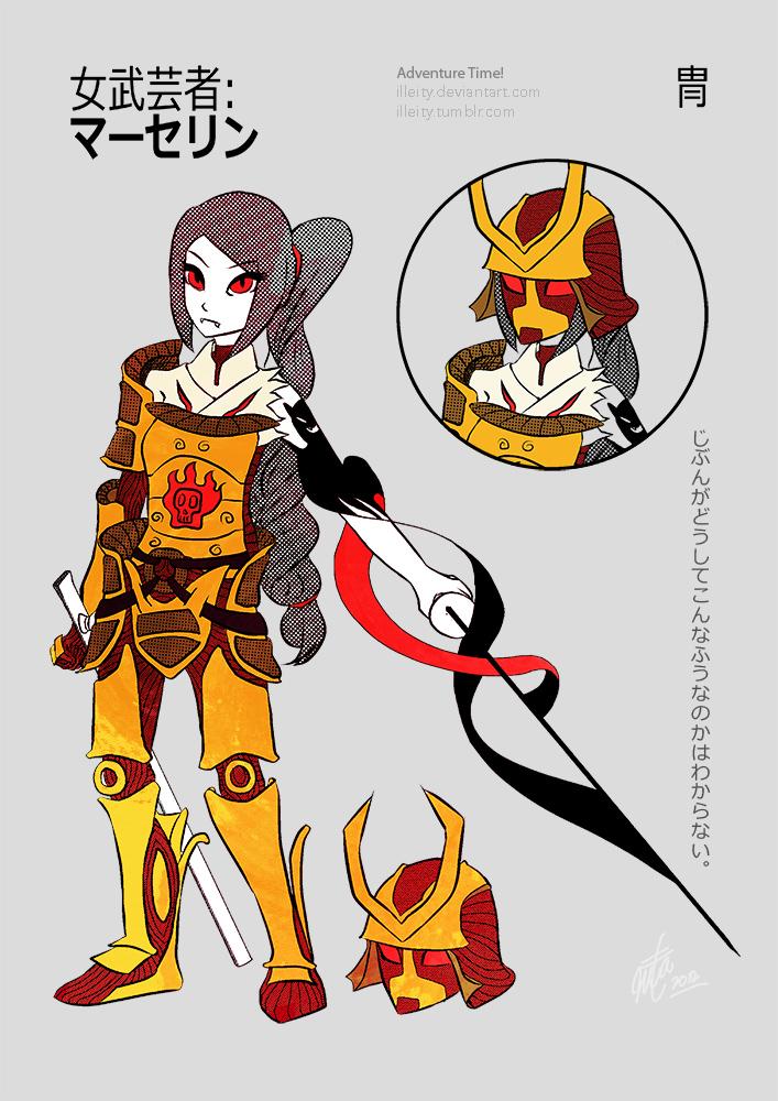 Onna-Bugeisha: Maaserin by illeity