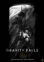 Gravity Skyfall by illeity